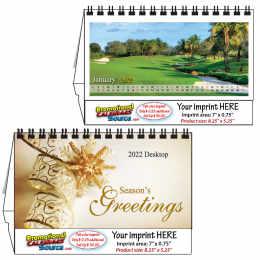 Golf Courses Desktop  - 2019 Promotional Calendar