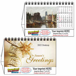 Fine Arts Desktop Calendar 8.25x5.25