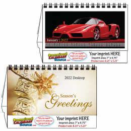 Sports Cars Desktop Calendar 2019