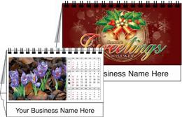 Flowers Desktop Tent Calendar 2019