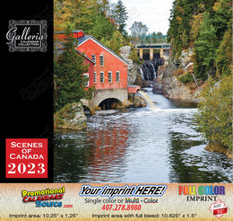 Scenes of Atlantic Canada Calendar Stapled
