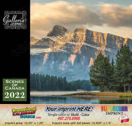 Scenes of Canada (English Only) Calendar 2018