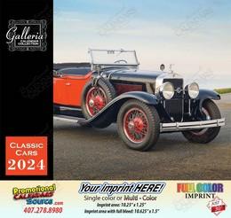 Classic Cars Calendar Stapled