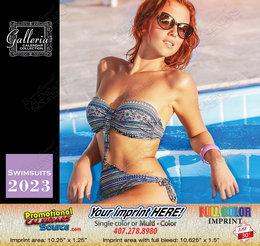 Swimsuits Models Wall Calendar