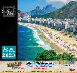 Beauty of Latin America Calendar 2019 Spanish/English