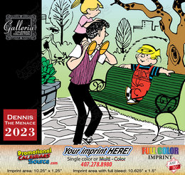 Dennis the Menace Value Calendar - 2018