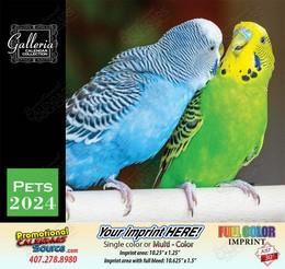 Pets Calendar Stapled 2019