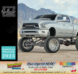 Pumped-Up Pickup Trucks Calendar 2019