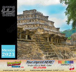 Scenes of Mexico Bilingual Spanish/English Calendar