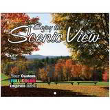 Scenic Views Promotional Custom Calendar