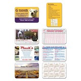 Laminated Wallet Card 3.5 x 2.25