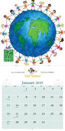 Executive Appointment  - Custom Promotional Calendar