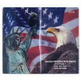 Patriotic Liberty  Pocket Memo Book