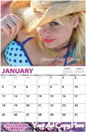 Custom Wall Calendar, High Grade, Adult Content Options, 11x17, Full-Color