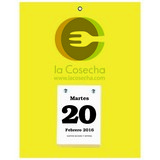 Daily Date Promotional Calendar Spanish Small 7x9