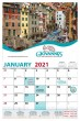 Giovanni's Italian Restaurant Full Custom 13 month photo calendar size 11x17,