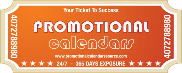 All year exposure with Promotional Calendars