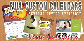 Desk Calendars in a variety of styles and sizes