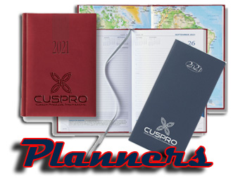 monthly weekly promotional planners with custom imprint