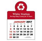 Inexpensive Self Adhesive promotional calendars that fit your budget