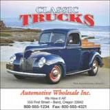 Selection of promotional calendars with images of trucks, rigs, 18 wheelers for all your business advertising needs